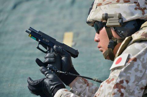 防衛省海上自衛隊 6次派遣海賊対処行動支援隊の記録4 射撃訓練No7