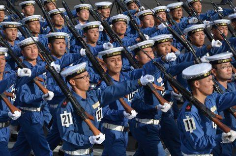 平成28年度 海上自衛隊 観閲式2016予行訓練(師団統一訓練)No01