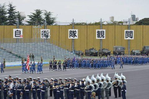 平成28年度 海上自衛隊 観閲式2016予行訓練(師団統一訓練)No06