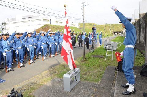 平成28年度 海上自衛隊 観閲式2016予行訓練(師団統一訓練)No07