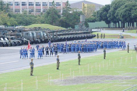 平成28年度 海上自衛隊 観閲式2016予行訓練(師団統一訓練)No09