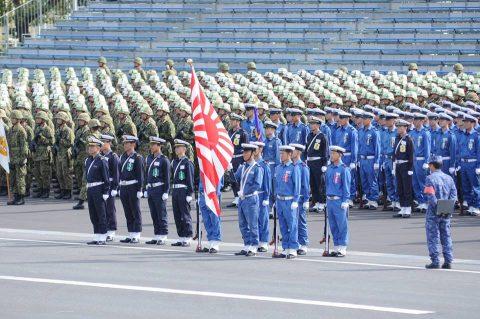 平成28年度 海上自衛隊 観閲式2016予行訓練(師団統一訓練)No10