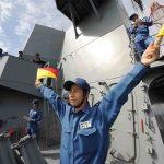 海上自衛隊豪州海軍主催多国間海上共同訓練(カカドゥ16)ふゆづき