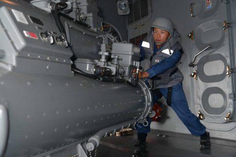 海上自衛隊豪州海軍主催多国間海上共同訓練(カカドゥ16)ふゆづきNo4