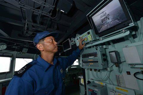 海上自衛隊豪州海軍主催多国間海上共同訓練(カカドゥ16)ふゆづきNo5