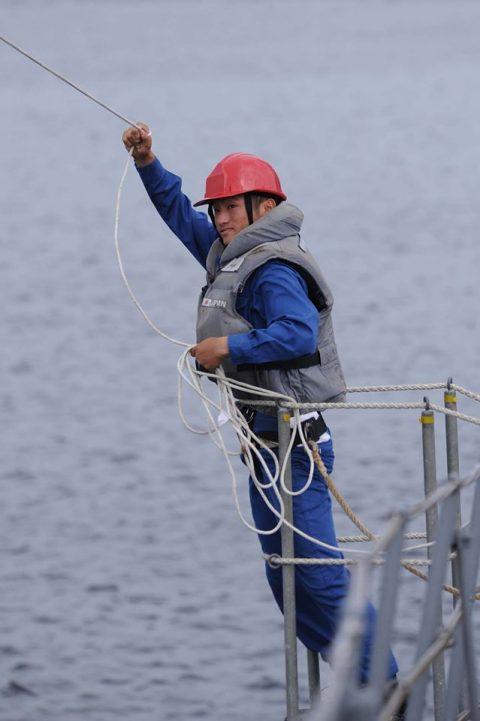 海上自衛隊豪州海軍主催多国間海上共同訓練(カカドゥ16)ふゆづきNo7