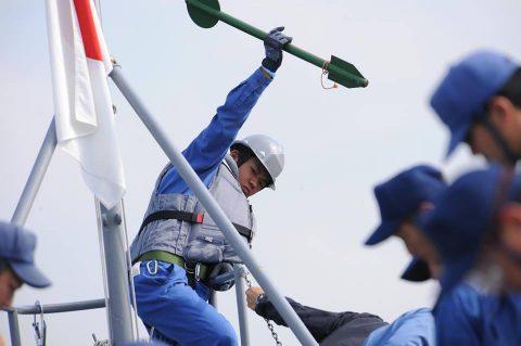 海上自衛隊豪州海軍主催多国間海上共同訓練(カカドゥ16)ふゆづきNo8