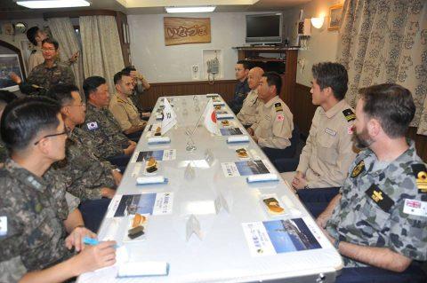 防衛省 自衛隊ジプチ・ソマリア 海賊対処水上部隊(25次隊)18No1