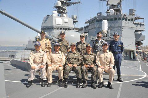 防衛省 自衛隊ジプチ・ソマリア 海賊対処水上部隊(25次隊)18No3