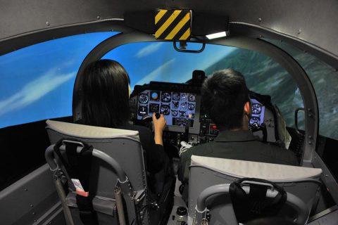 小月航空基地祭2016 青木教官のT-5 航空学生のドリルNo3