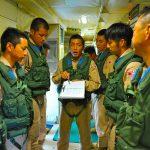 海上自衛隊 派遣海賊対処法 24次航空隊/6次支援隊の記録8
