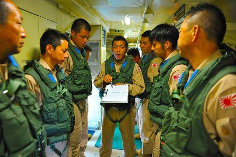 海上自衛隊 派遣海賊対処法 24次航空隊/6次支援隊の記録8No1