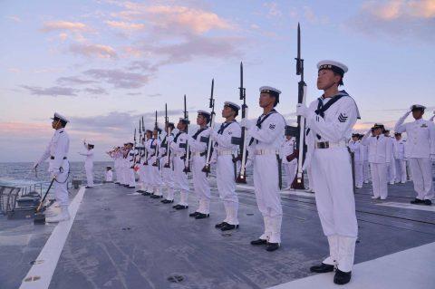 豪州海軍主催多国間海上共同訓練(カカドゥ16)ふゆづき舞鶴基地帰国No2