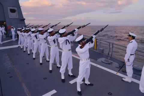 豪州海軍主催多国間海上共同訓練(カカドゥ16)ふゆづき舞鶴基地帰国No3