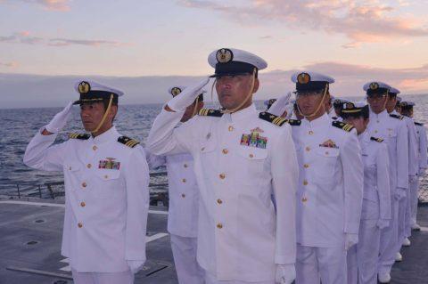 豪州海軍主催多国間海上共同訓練(カカドゥ16)ふゆづき舞鶴基地帰国No4