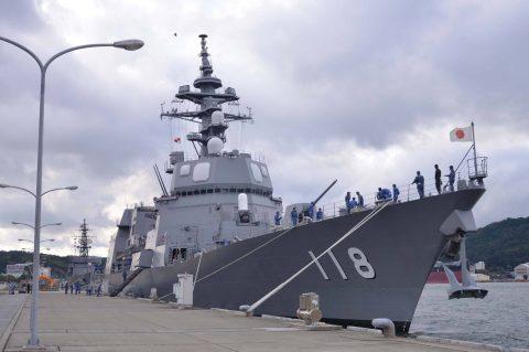 豪州海軍主催多国間海上共同訓練(カカドゥ16)ふゆづき舞鶴基地帰国No6