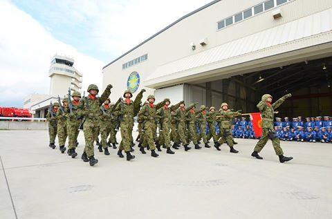 平成28年度自衛隊観閲式 事前訓練 海上自衛隊第3術科学校No1
