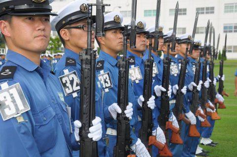 平成28年度自衛隊観閲式 事前訓練 海上自衛隊第3術科学校No2