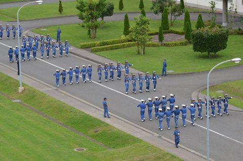 平成28年度自衛隊観閲式 事前訓練 海上自衛隊第3術科学校No3