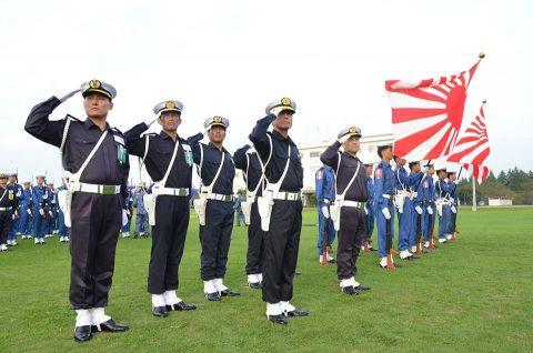 平成28年度自衛隊観閲式 事前訓練 海上自衛隊第3術科学校No4