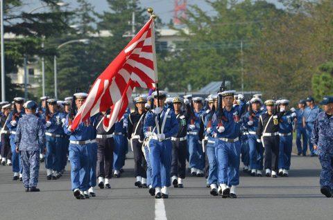 平成28年度自衛隊観閲式 事前訓練 海上自衛隊第3術科学校No5