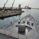 2016 海上自衛隊 練習艦隊 遠洋航海22在ジブチ日本国大使館