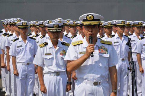 2016 海上自衛隊 練習艦隊 遠洋航海22在ジブチ日本国大使館No2