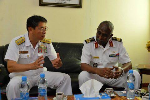 2016 海上自衛隊 練習艦隊 遠洋航海22在ジブチ日本国大使館No5