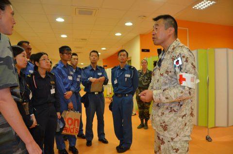 2016 海上自衛隊 練習艦隊 遠洋航海22在ジブチ日本国大使館No7
