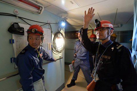 南極観測船・砕氷艦しらせ うな子の志布志市で一般公開2016No7