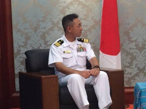 護衛艦ふゆづきの寄港 在東ティモール日本国大使館Facebook No05