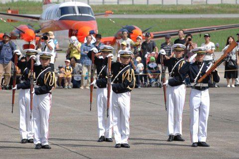 海上自衛隊 徳島航空基地祭 2016 P-1哨戒機 航空学生ドリルNo01