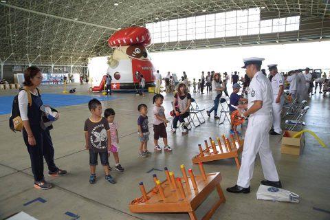 海上自衛隊 徳島航空基地祭 2016 P-1哨戒機 航空学生ドリルNo04