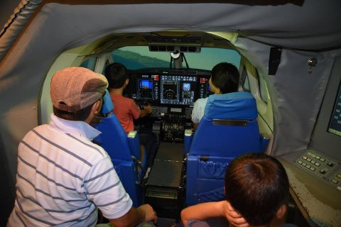 海上自衛隊 徳島航空基地祭 2016 P-1哨戒機 航空学生ドリルNo07
