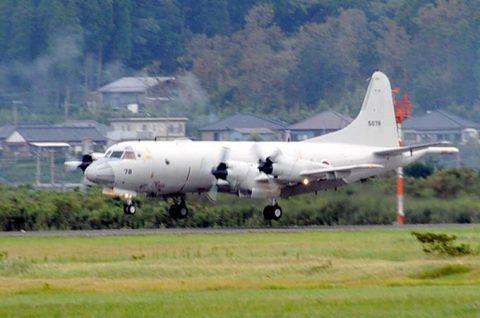 カカドゥ16 出迎え式 P-3C 2機 鹿屋航空基地に帰国No1