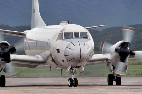 カカドゥ16 出迎え式 P-3C 2機 鹿屋航空基地に帰国No2