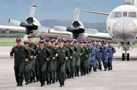 カカドゥ16 出迎え式 P-3C 2機 鹿屋航空基地に帰国No4