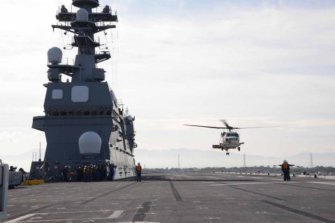 海上防災フェスタ(新潟)でヘリ搭載の護衛艦ひゅうを一般公開!No1
