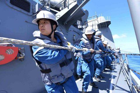 豪州オーストラリア カカドゥ16 海軍主催 共同訓練ふゆづき記録No2