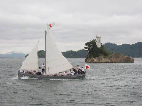 海上自衛隊 平成28年度 幹部候補生学校 帆走訓練・しらせNo2