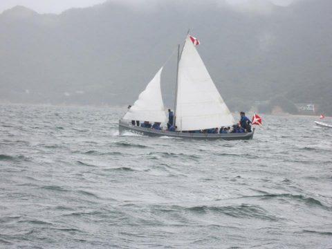 海上自衛隊 平成28年度 幹部候補生学校 帆走訓練・しらせNo5