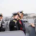 護衛艦たかなみ・ニュージーランド海軍主催国際観艦式に参加