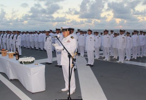 護衛艦たかなみ・ニュージーランド海軍主催国際観艦式に参加No02