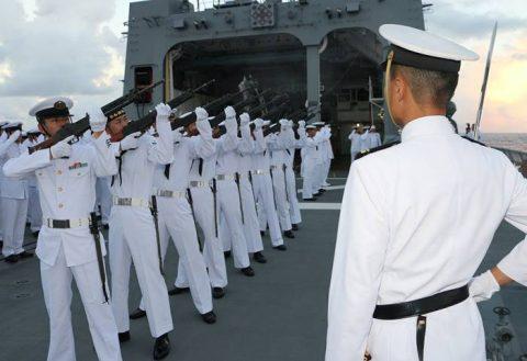護衛艦たかなみ・ニュージーランド海軍主催国際観艦式に参加No03