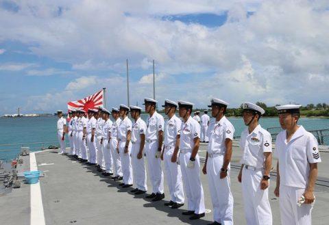護衛艦たかなみ・ニュージーランド海軍主催国際観艦式に参加No04