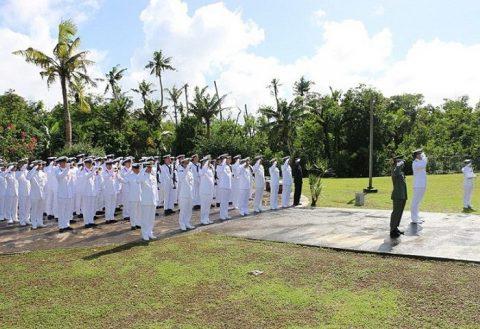 護衛艦たかなみ・ニュージーランド海軍主催国際観艦式に参加No07