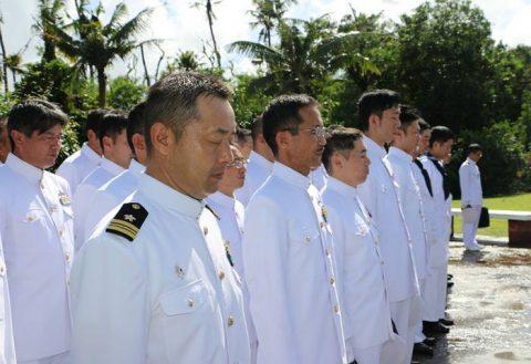 護衛艦たかなみ・ニュージーランド海軍主催国際観艦式に参加No08