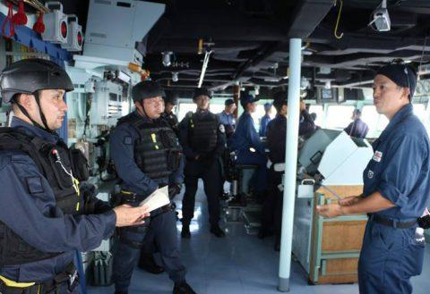 護衛艦たかなみ・ニュージーランド海軍主催国際観艦式に参加No10