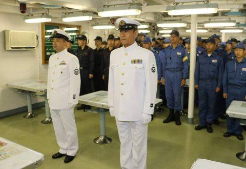 護衛艦たかなみ・ニュージーランド海軍主催国際観艦式に参加No11