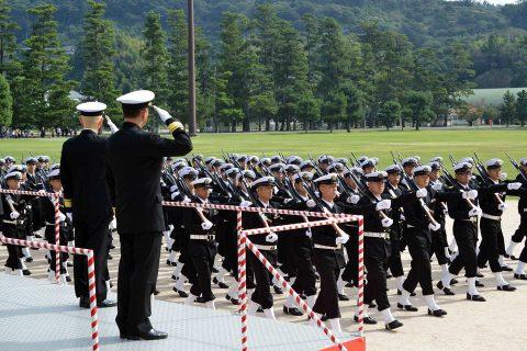 海上自衛隊 江田島地区 平成28年自衛隊記念日記念行事No5